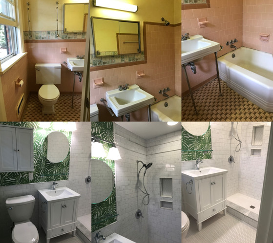 1950's Bathroom Remodel