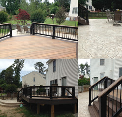 New Deck and Patio