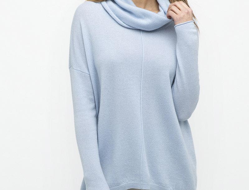 Kinross Popover Cashmere Sweater