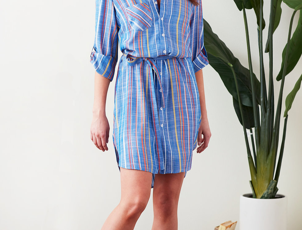 Finley Alex Grover Stripe Dress
