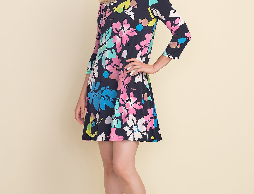 Joseph Ribkoff Flower Dress