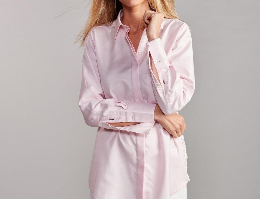 Claridge & King Pink Ribbon Shirt