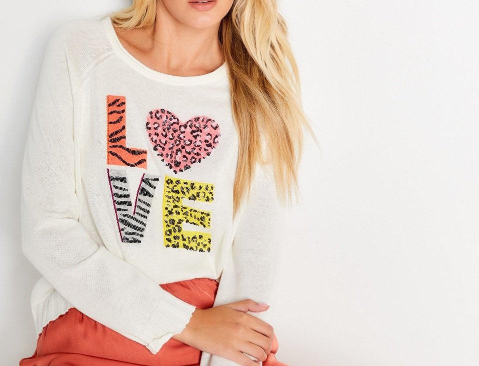 Lisa Todd Got Love Sweater
