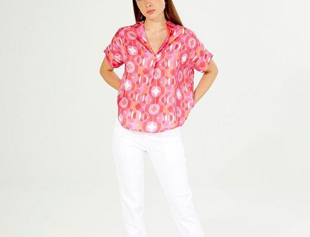 Vilagallo Diamond Jewel Shirt