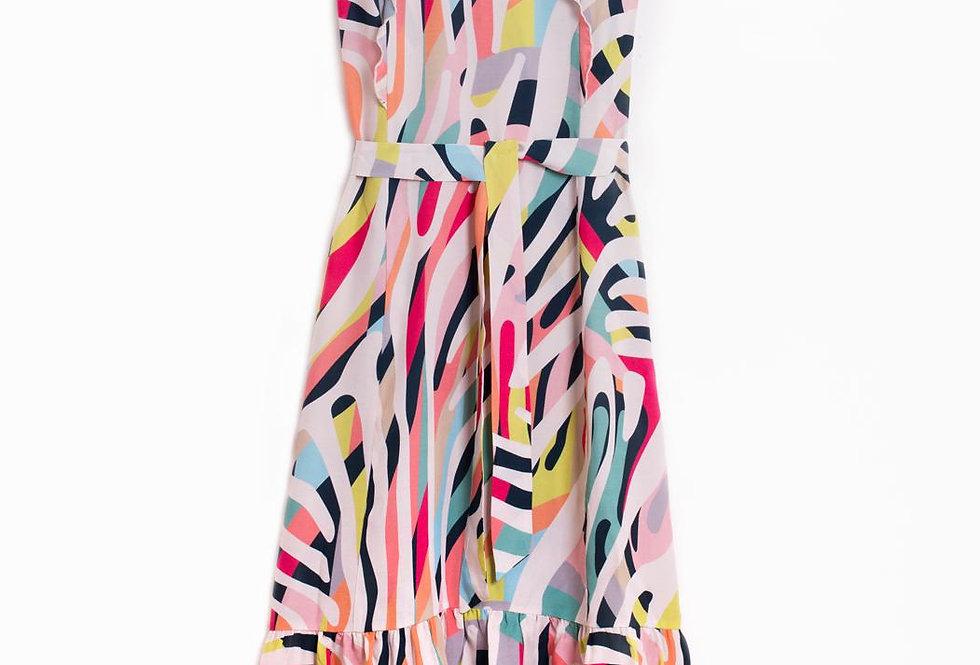 Vilagallo Zebra Madness Dress