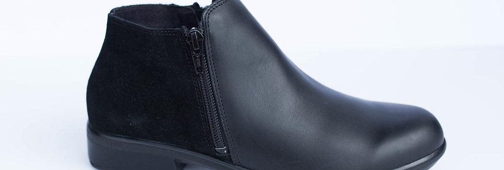 Naot Black Helm Boot