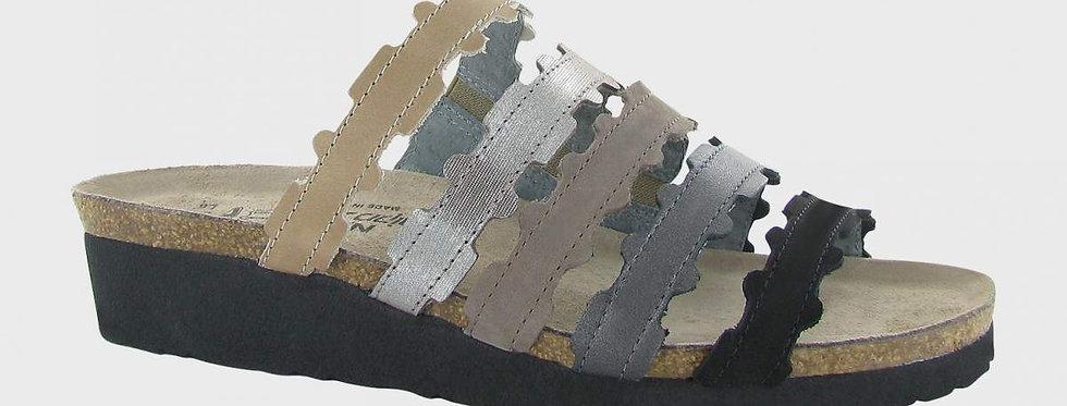 Naot Adina Khaki Combo Sandal
