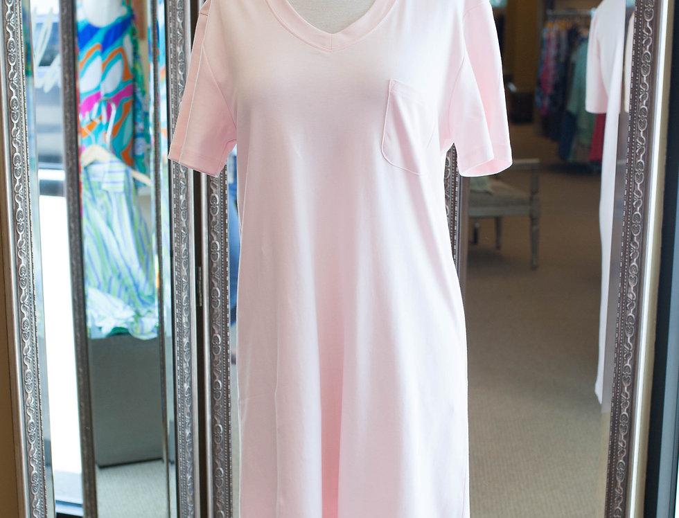 Cotn Nightshirt Pink