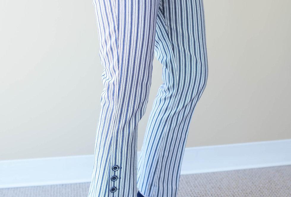 Elliott Lauren Ticking Stripe Crop Pant