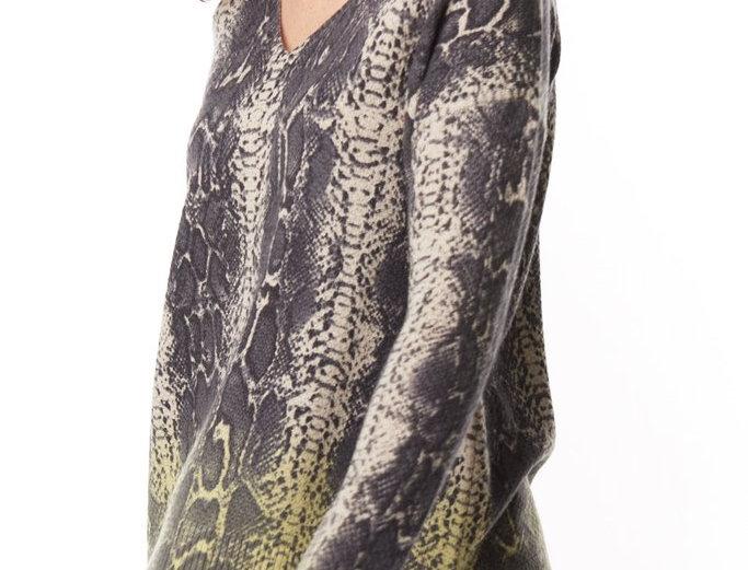 Lisa Todd Python Pop Sweater