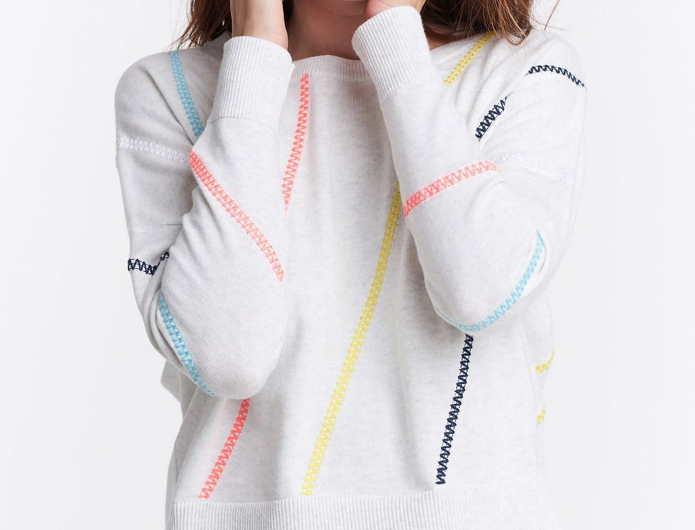 Lisa Todd Power Stitch Sweater