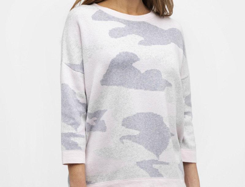 Kinross Reversible Camo Sweater