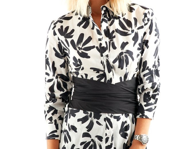 Finley Thatched Floral Kenny Tunic
