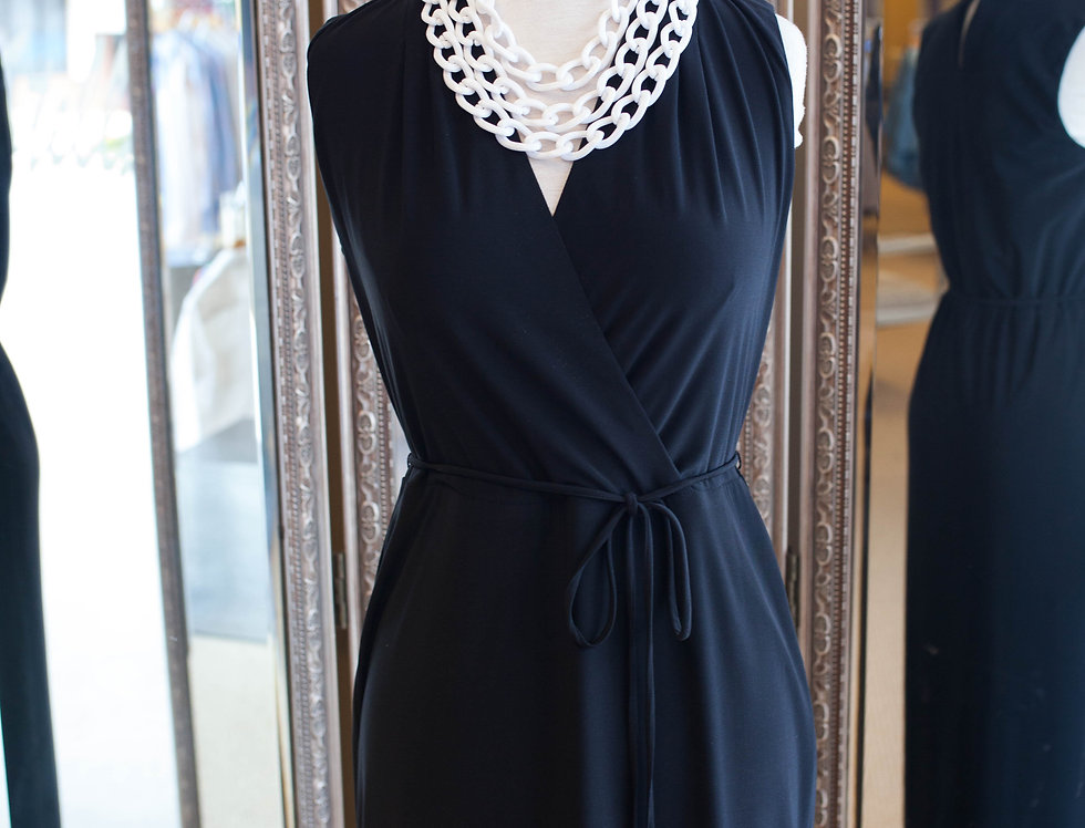 Joseph Ribkoff Black Maxi Dress