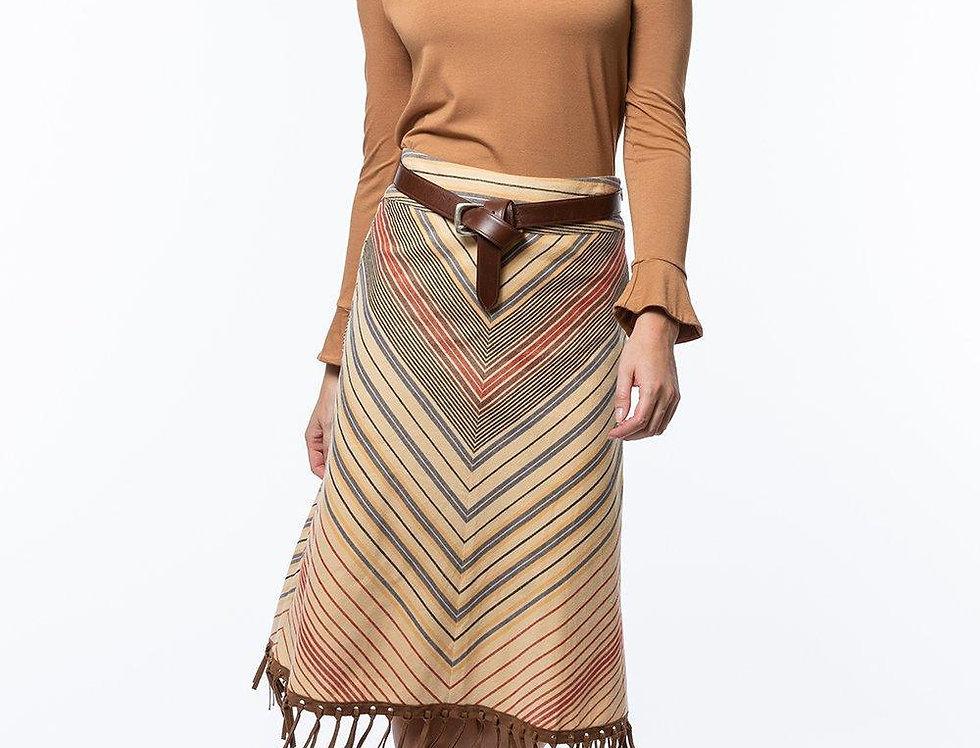 Tyler Boe Fringed Skirt