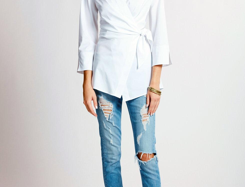 Finley Courtney Wrap Shirt
