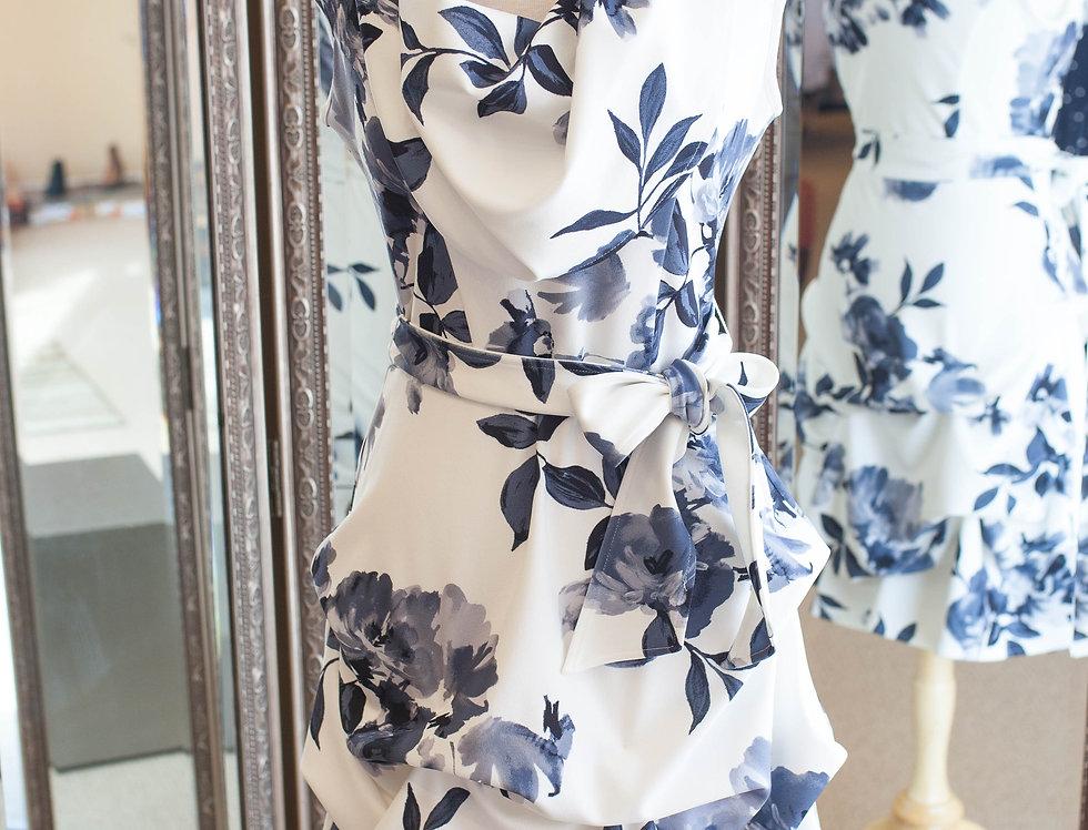 Joseph Ribkoff Flounce Dress