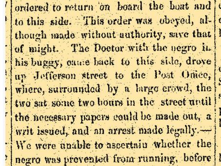 Iowa and Fugitive Slave Act 1850