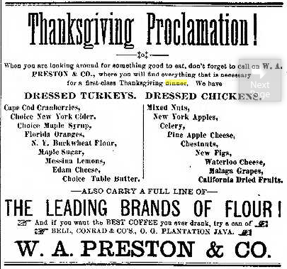 Thanksgiving-proclamation