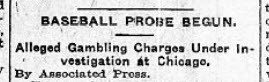 No more politics: Let's talk 1920 headlines