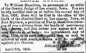 Nancy -Hamilton-versus-William-Hamilton-divorce-1859