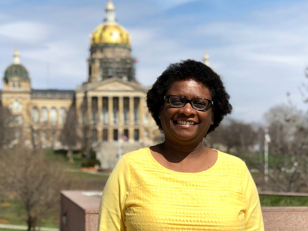 Ricki-Sue-King-first-Black-female-Presidential-candidate-from-Iowa-2020.