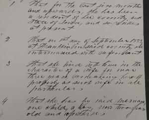 Barbara Shireman v. Adam Shireman divorce 1859