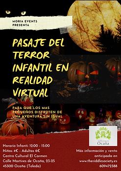 Pasaje del terror Realidad Virtual Infan