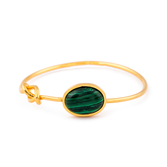 Pulseira pedra verde