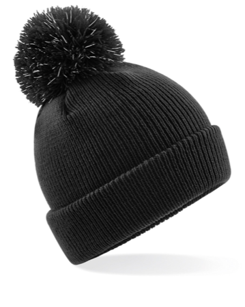 2cbcb1b02c58e Personalised Reflective Pom Hat