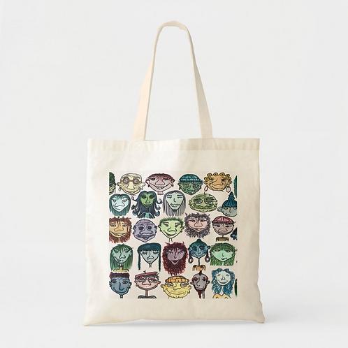 """No"" Single Artwork Tote Bag"