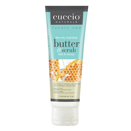 Cuccio-milk & honey butter scrub 牛奶蜜糖深層營養磨沙霜