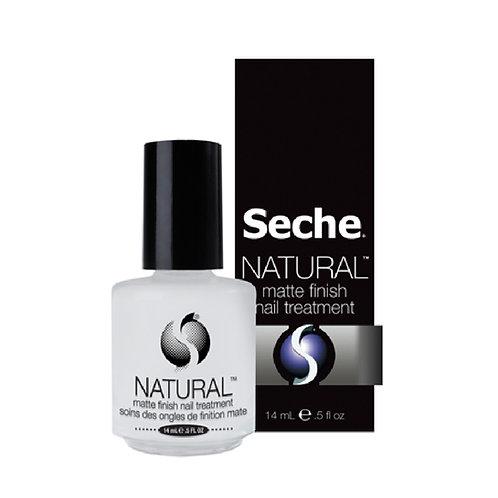 Seche-NATURAL matt finish nail treatment 啞感小麥護甲底油