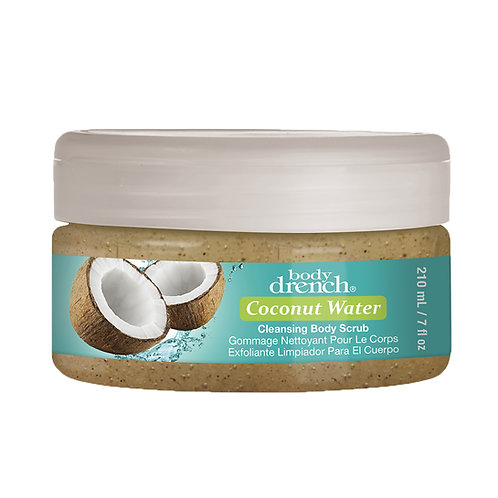 Body Drench-coconut water cleansing body scrub 椰子水身體磨砂