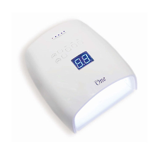 The One-rechargable cordless UV.LED lamp充電式無線燈機