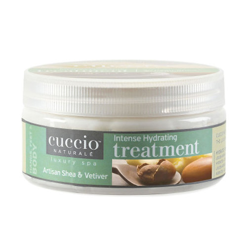 Cuccio-artisan shea & vetiver intense hydrating treatment 乳木果岩蘭草強效保濕修護霜