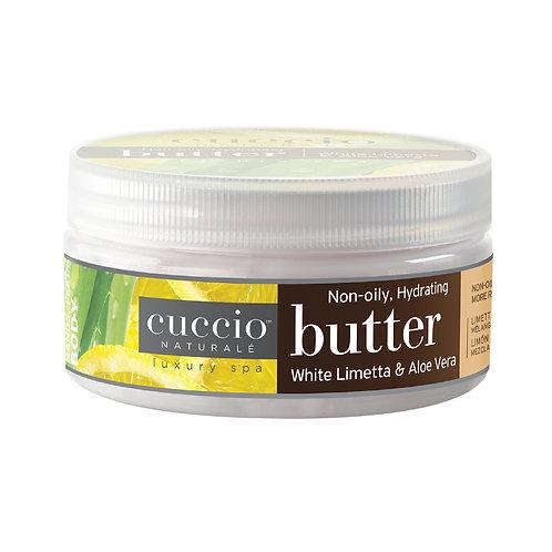 Cuccio-white limetta & aloe vera butter 白檸蘆薈深層營養霜