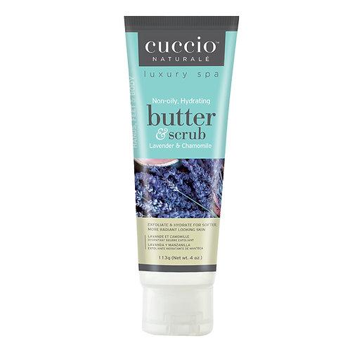 Cuccio-lavender & chamomile butter scrub 薰衣草黄甘菊深層營養磨沙霜