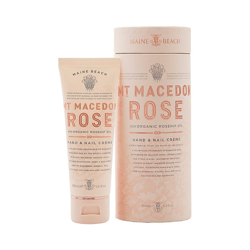 Maine Beach-Mt Macedon rose hand & nail crème 馬其頓山玫瑰手部及指甲修護霜