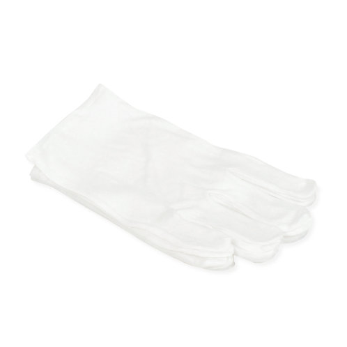white cotton glove 白色棉手套