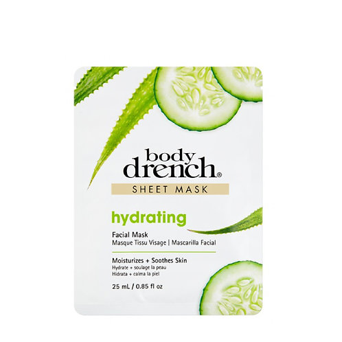 Body Drench-hydrating sheet mask 蘆薈青瓜保濕天絲面膜