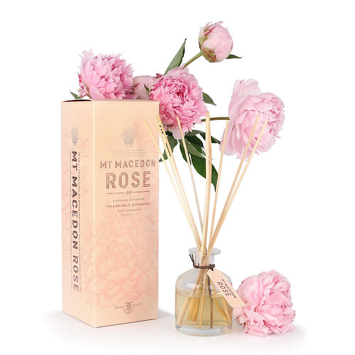 Maine Beach-Mt Macedon rose fragrance diffuser 馬其頓山玫瑰藤條香薰