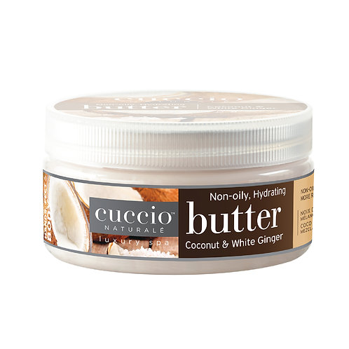 Cuccio-coconut & white ginger butter 椰香白薑花深層營養霜