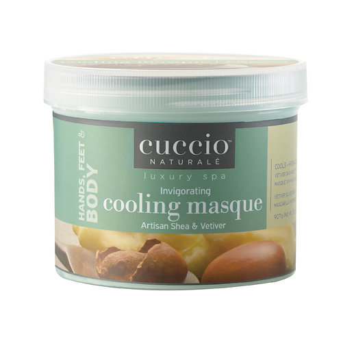 Cuccio-artisan shea & vetiver invigorating cooling masque 乳木果岩蘭草活化冷膜