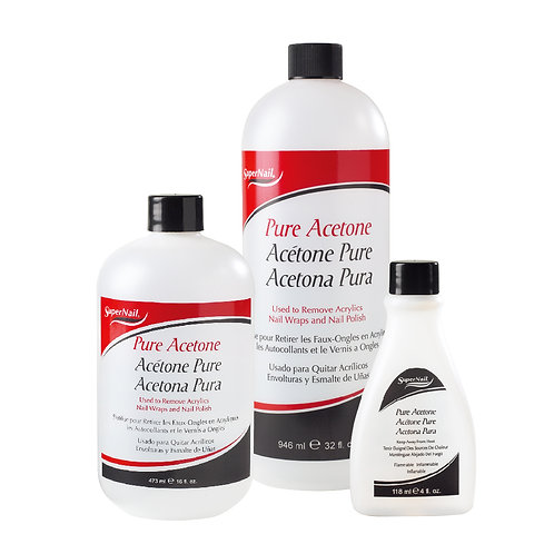 Super Nail-pure acetone remover (白色)強力拆甲水