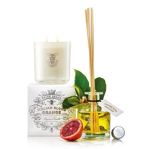Maine Beach-ltalian blood orange fragrance diffuser 意大利血橙藤條香薰