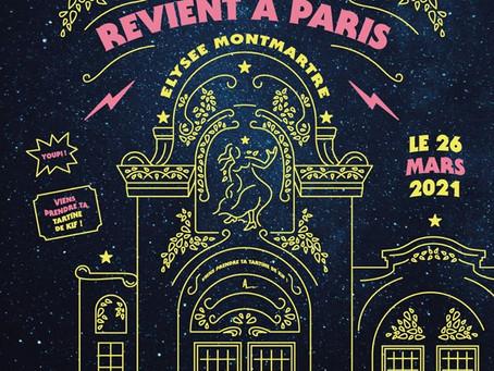 AIRNADETTE REVIENT À PARIS