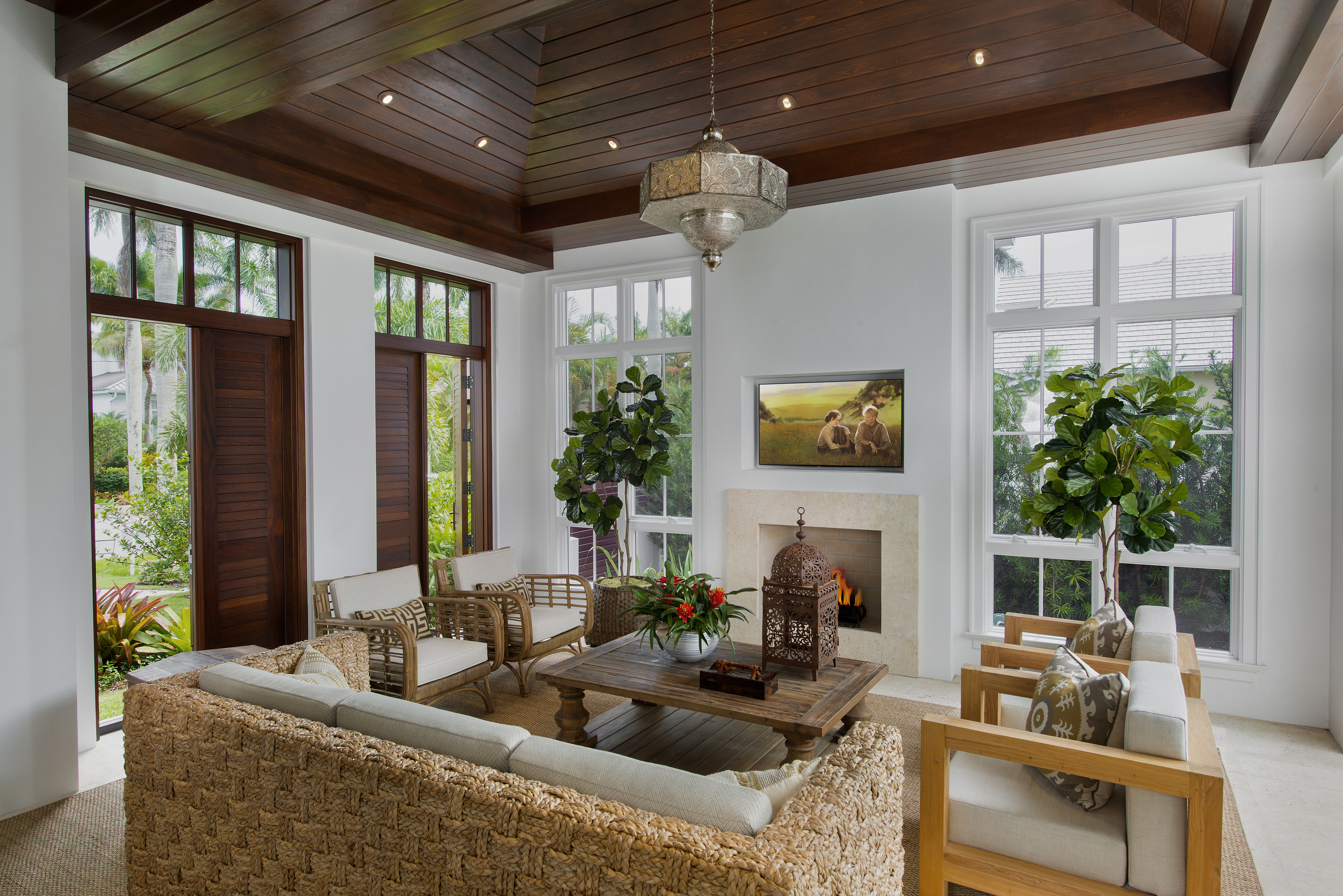 Jeffrey Fisher Home Luxury Interior Design Imagined Home Decor Sun Room