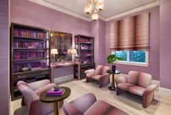 Jeffrey Fisher Home Luxury Interior Design Imagined Home Decor Purple Sitting Room