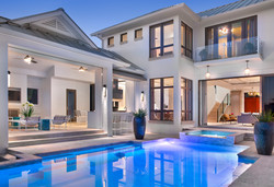 Jeffrey Fisher Home Luxury Interior Design Imagined Home Decor Exterior Pool and Spa
